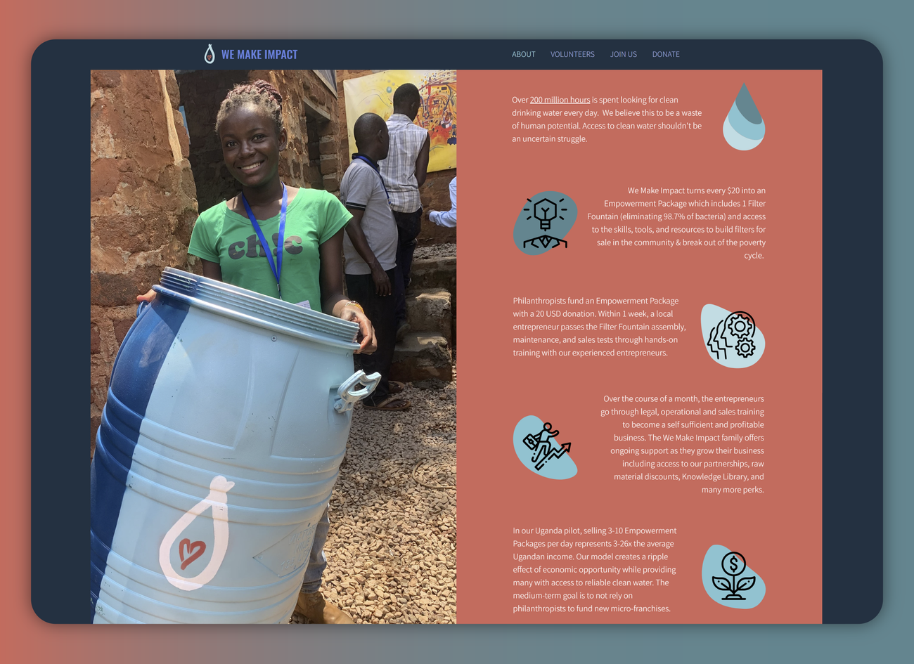 A Not-For-Profit Water Filtration Empowerment Group